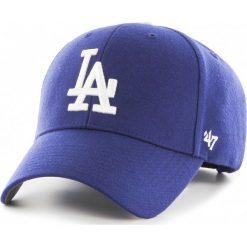 47brand - Czapka Los Angeles Dodgers. Szare czapki z daszkiem męskie 47brand. W wyprzedaży za 69,90 zł.