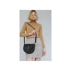 Torebki klasyczne damskie: Saddle Bag (Black)
