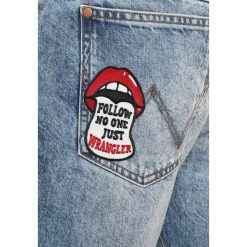 Wrangler BOYTON Jeansy Zwężane blue tomorrow. Szare jeansy męskie marki Wrangler, l, z poliesteru, z kapturem. W wyprzedaży za 364,65 zł.