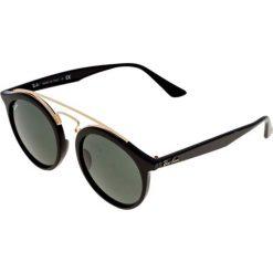 RayBan Okulary przeciwsłoneczne black. Szare okulary przeciwsłoneczne damskie lenonki marki Ray-Ban, z materiału. Za 559,00 zł.