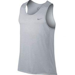 Odzież sportowa męska: koszulka do biegania męska NIKE DRI-FIT MILER TANK / 834238-100 – NIKE DRI-FIT MILER TANK