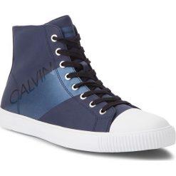 Trampki CALVIN KLEIN JEANS - Antani SE8591  Navy/Metal Blue. Niebieskie trampki męskie Calvin Klein Jeans, z gumy. Za 569,00 zł.