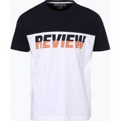 T-shirty męskie z nadrukiem: Review – T-shirt męski, niebieski