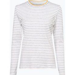 T-shirty damskie: Marie Lund - Damska koszulka z długim rękawem, beżowy