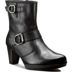 Botki GABOR - 75.795.27 Czarny. Czarne buty zimowe damskie Gabor, z polaru, na obcasie. W wyprzedaży za 329,00 zł.