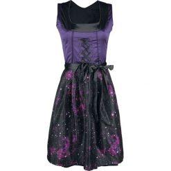 Black Premium by EMP Hedi's Dirndl Sukienka czarny/jasnofioletowy. Czarne sukienki balowe marki Black Premium by EMP, xl, z poliesteru. Za 209,90 zł.