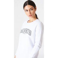 Calvin Klein Bluza Core Fit 78 - White. Białe bluzy rozpinane damskie Calvin Klein. W wyprzedaży za 202,48 zł.