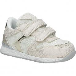 Beżowe buty sportowe na rzepy American K17381. Brązowe buciki niemowlęce American, na rzepy. Za 69,99 zł.