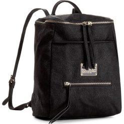 Plecak NOBO - NBAG-D1320-C020 Czarny. Czarne plecaki damskie Nobo, ze skóry ekologicznej. W wyprzedaży za 129,00 zł.