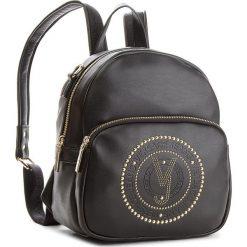 Plecak VERSACE JEANS - E1VSBBR7 70718 899. Czarne plecaki damskie Versace Jeans, z jeansu, eleganckie. W wyprzedaży za 519,00 zł.