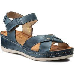 Rzymianki damskie: Sandały WASAK – 0473 Jeans