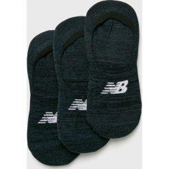 New Balance - Skarpetki (3-pack). Czarne skarpetki damskie New Balance, z elastanu. Za 49,90 zł.