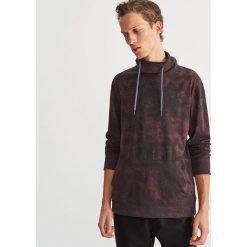 Bluza ze stójką - Bordowy. Czerwone bluzy męskie marki KALENJI, m, z elastanu, z długim rękawem, długie. Za 79,99 zł.