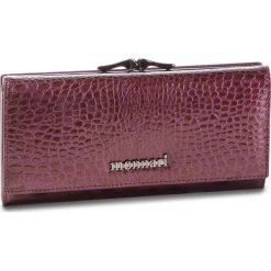 Duży Portfel Damski MONNARI - PUR0622-014 Violet. Czerwone portfele damskie Monnari, z lakierowanej skóry. Za 229,00 zł.