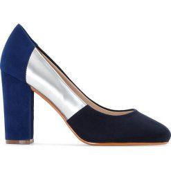 Czółenka: Czółenka dwukolorowe szeroka stopa roz.38-45