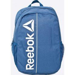 Reebok - Plecak. Szare plecaki męskie Reebok, w paski, z poliesteru. W wyprzedaży za 69,90 zł.