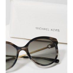 Michael Kors Okulary przeciwsłoneczne black. Czarne okulary przeciwsłoneczne damskie aviatory Michael Kors. Za 779,00 zł.