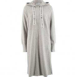 Sukienka dresowa z kolekcji Maite Kelly bonprix jasnoszary melanż. Szare sukienki dresowe bonprix, melanż. Za 109,99 zł.