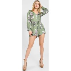 Kombinezony damskie: MINKPINK WANDERER LONG SLEEVE PLAYSUIT Kombinezon multicoloured
