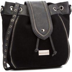 Torebka MONNARI - BAGA490-020 Black. Czarne torebki worki Monnari, ze skóry ekologicznej. W wyprzedaży za 179,00 zł.