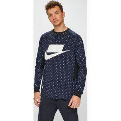 Nike - Bluza. Szare bluzy męskie rozpinane Nike, l, z nadrukiem, z dzianiny. Za 259,90 zł.