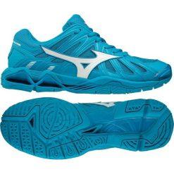 Buty sportowe męskie: Mizuno Buty Wave Tornado X2 niebieskie r. 45 (V1GA181298)