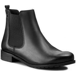 Sztyblety KARINO - 0806/076-F Czarny. Fioletowe buty zimowe damskie marki Karino, ze skóry. W wyprzedaży za 199,00 zł.