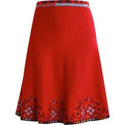 Spódniczki trapezowe: Ivko INTARSIA  Spódnica trapezowa red