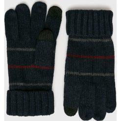 Medicine - Rękawiczki Basic. Czarne rękawiczki męskie MEDICINE, z dzianiny. W wyprzedaży za 39,90 zł.