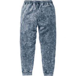 Spodnie dresowe bonprix szary. Szare spodnie dresowe męskie marki bonprix, z dresówki. Za 109,99 zł.