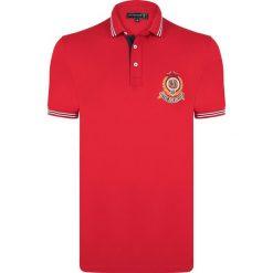 """Koszulki polo: Koszulka polo """"Grain"""" w kolorze czerwonym"""