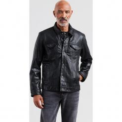 """Skórzana kurtka """"The Trucker"""" w kolorze czarnym. Czarne kurtki męskie bomber Levi's®, m, ze skóry. W wyprzedaży za 652,95 zł."""