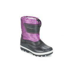 Śniegowce Dziecko Citrouille et Compagnie  FIZKO. Fioletowe buty zimowe chłopięce marki Citrouille et Compagnie. Za 153,30 zł.