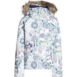 Roxy JET SKI Kurtka snowboardowa bright white/hackney empire. Białe kurtki chłopięce marki 4F JUNIOR, na lato, z materiału. W wyprzedaży za 471,20 zł.