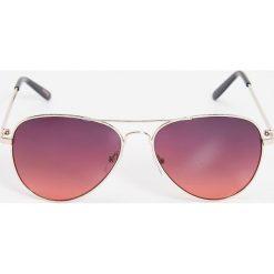 Okulary przeciwsłoneczne damskie: Okulary przeciwsłoneczne – Bordowy