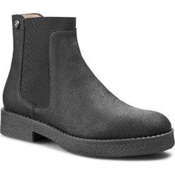 Sztyblety LIU JO - Beatle Doriane S65079 P0227 Asphalt 90201. Czarne buty zimowe damskie Liu Jo, z materiału, na obcasie. W wyprzedaży za 469,00 zł.