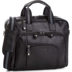 Torba na laptopa LANETTI - RM0211 Black. Czarne torby na laptopa marki Lanetti, ze skóry ekologicznej. Za 149,99 zł.