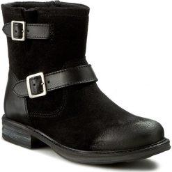 Botki FILIPE - 8466 Preto 6703. Czarne buty zimowe damskie Filipe, z materiału. W wyprzedaży za 259,00 zł.