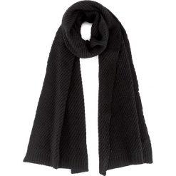 Szal CALVIN KLEIN - Ck Twist Scarf K60K603742  001. Czarne szaliki damskie marki Calvin Klein, z materiału. W wyprzedaży za 229,00 zł.