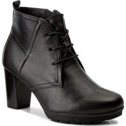 Botki CAPRICE - 9-25252-29 Black Nappa 022. Czarne buty zimowe damskie Caprice, ze skóry ekologicznej, na obcasie. W wyprzedaży za 239,00 zł.