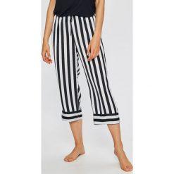 Dkny - Spodnie piżamowe. Szare piżamy damskie marki DKNY, l, z materiału. W wyprzedaży za 179,90 zł.