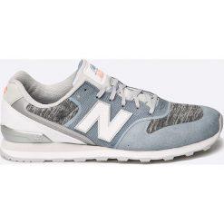 New Balance - Buty. Szare buty sportowe damskie New Balance, z materiału. W wyprzedaży za 239,90 zł.