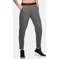 Spodnie sportowe damskie: Under Armour Spodnie damskie Pla Up Pant – Solid szare r. S (1311332-090)