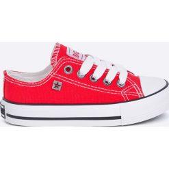 Big Star - Tenisówki dziecięce. Szare buty sportowe dziewczęce BIG STAR, z gumy, z okrągłym noskiem, na sznurówki. Za 69,90 zł.
