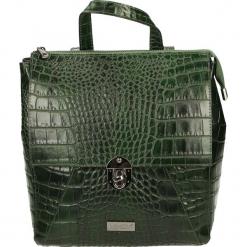 Plecak - 4-109-M C VES. Szare plecaki damskie Venezia, w paski, ze skóry. Za 239,00 zł.