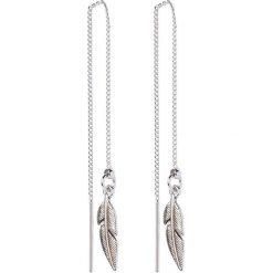 Kolczyki damskie: TomShot Kolczyki silvercoloured
