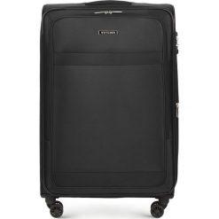 Walizka duża 56-3S-583-10. Czarne walizki marki Wittchen, duże. Za 419,00 zł.