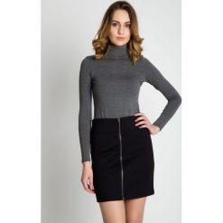 Minispódniczki: Spódnica mini z zamkiem na przodzie BIALCON
