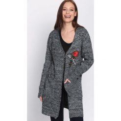 Swetry damskie: Czarny Kardigan Permanence