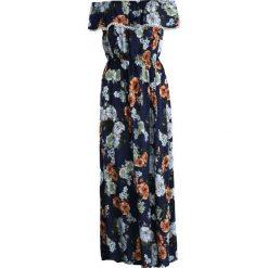 Sukienki: Niebiesko-Brązowa Sukienka Remember Me